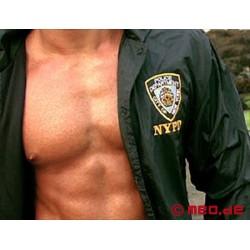 Veste bleue du NYPD