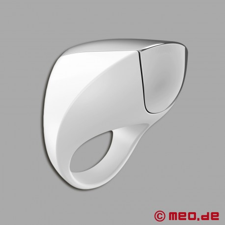 OVO A1 VIBRATING RING WHITE/CHROME