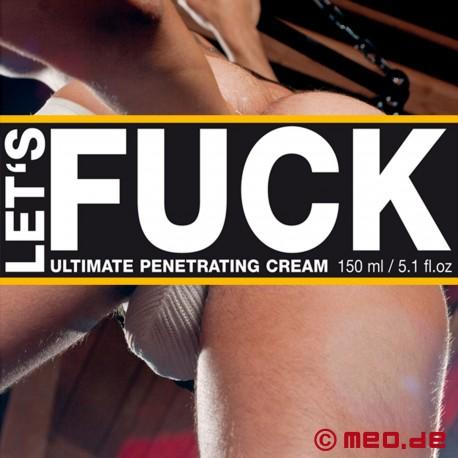 LET'S FUCK ULTIMATE by MEO Crema lubrificante per il fisting anale