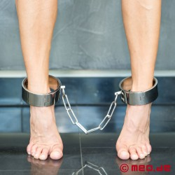 Black Berlin Ankle Shackles