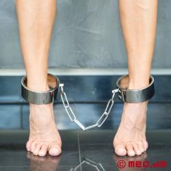 Fußfesseln aus Stahl Black Berlin