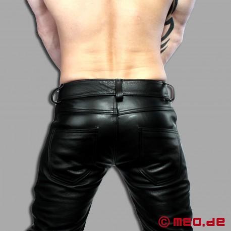 Pantalons de cuir SKINNY