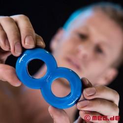 COSMO Cock Bondage Ring - bleu