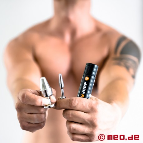 24/7-STOPF-MICH-SET mit Penis Plug