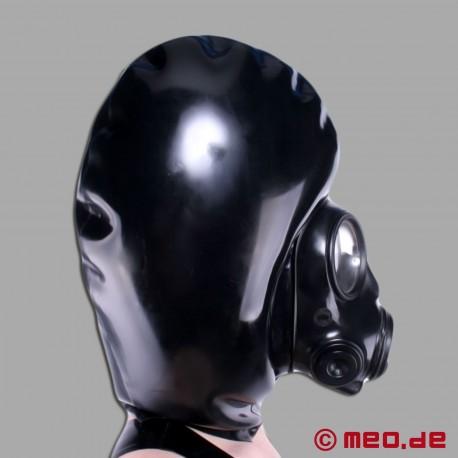 Maschera gonfiabile con maschera antigas