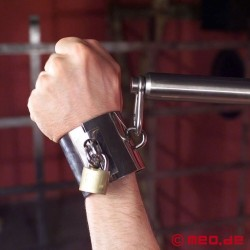 Stainless steel wrist restraints