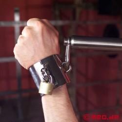 Stainless steel wrist restraints