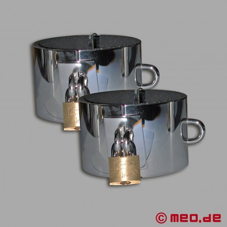 Stainless steel ankle restraints