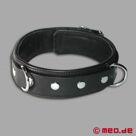 """Leather Collar """"Wolf"""""""