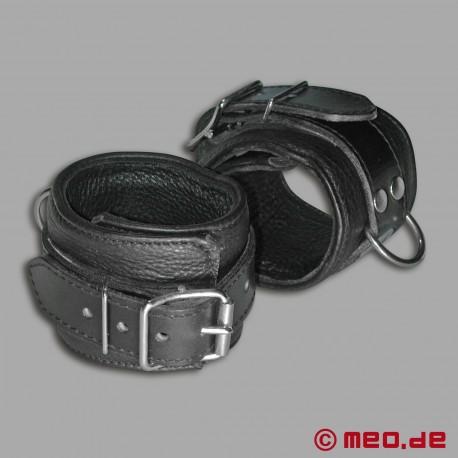 Handfesseln aus echtem Leder - MEO ® Vintage-Edition