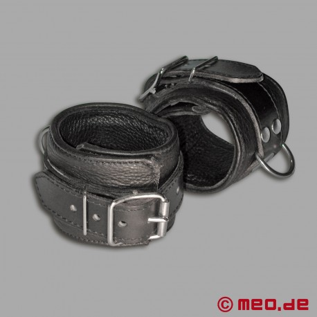 Fußfesseln aus Leder - MEO® Vintage-Edition