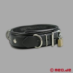 Lockable Leather Collar