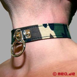MILITARY BONDAGE - Marrakech Camouflage - collar
