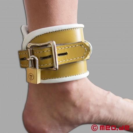 Polsini per caviglie richiudibili in pelle - Hospital Style - Restrizioni ospedaliere