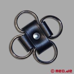 Connettore hogtie con anelli a D