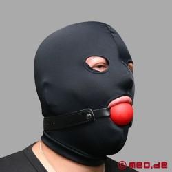 Ballknebel mit rotem Ball – DEVOTUS