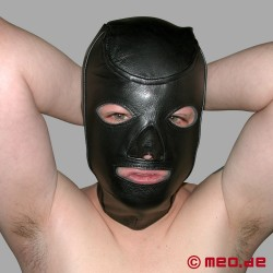 Leather Bondage Hood