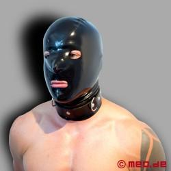 Cagoule en latex - MEO BLACK