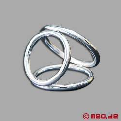 Dreifacher Cockring - CAZZOMEO Triple Cock Ring