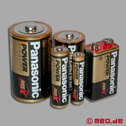 Battery: Mignon, 1,5 V, 2800 mAh