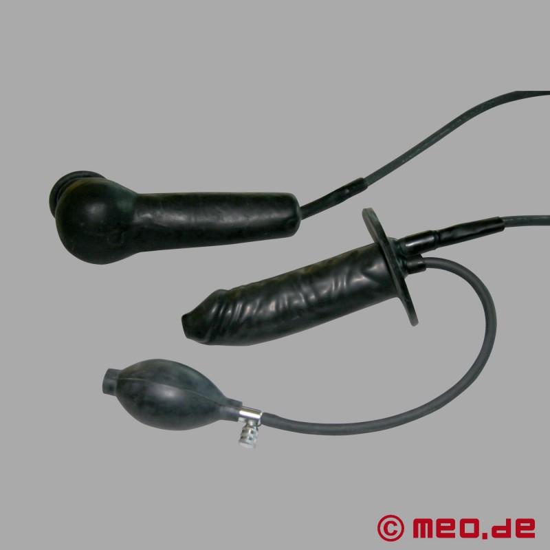 Ein Kondom in einen Dildo verwandeln