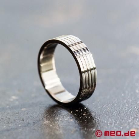 MEO-Schmuck: Edelstahl-Ring