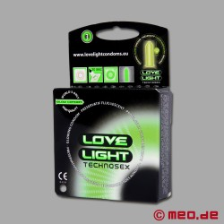 Condoms Love Light 3pack