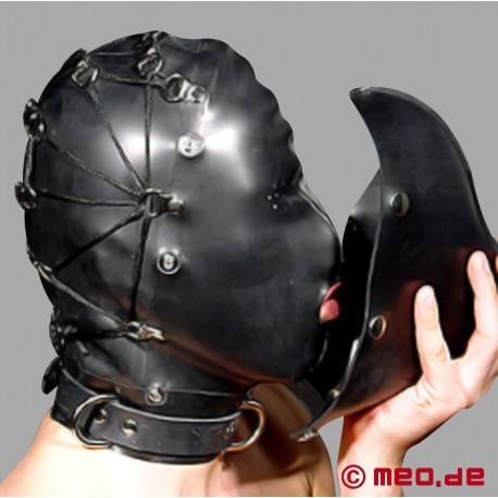 Rubber Mask Hood