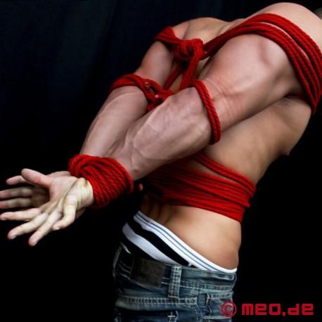 Bondageseil in Profi-Qualität – Rotes Seil für Bondage