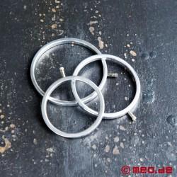 Elektrosex-Hoden-Ringe (3er)