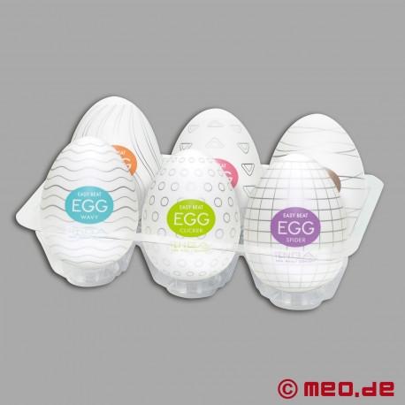 Tenga - Egg 6 Styles Pack Serie 1