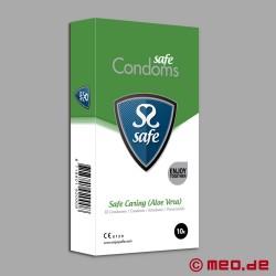 SAFE CARING Kondome mit Aloe Vera (10er Pack)