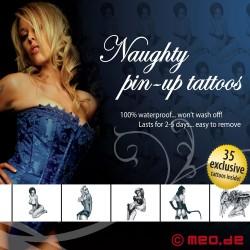 Tattoo Set MEO - Naughty Pin-Up
