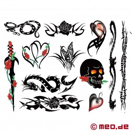 Tattoo Set - Rocker Chick