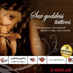 Kit de tatouages – Pour les salopes d'un soir - Sex Goddes