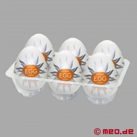 Tenga - Egg Shiny (6 Pieces)