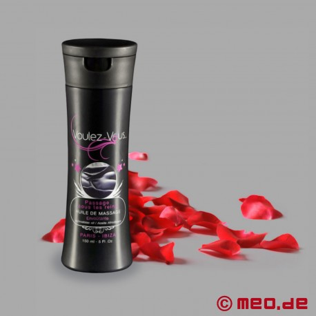 Massageöl Voulez-Vous... Rosenblätter