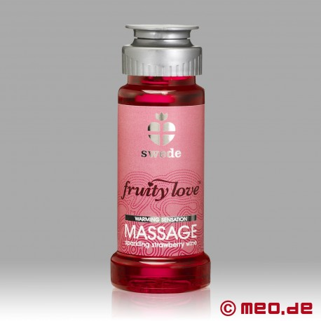 Swede - Fruity Love huile de massage - Sparkling Strawberry