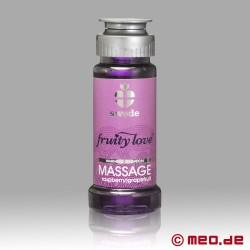 Swede - Fruity Love Massageöl - Himbeere & Grapefruit