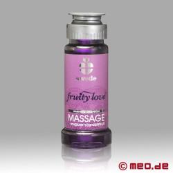 """Swede - Olio da massaggio """"Fruity Love"""" - Lampone & Pompelmo"""