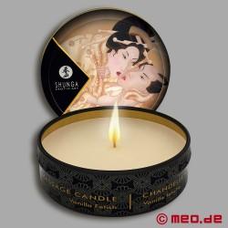 Shunga Massage Candle - Vanilla