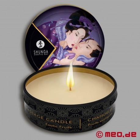 Shunga Massage Candle - Exotic Fruits