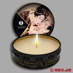 Shunga Massage Candle - Chocolate