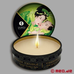 Shunga Massage Candle - Green Tea