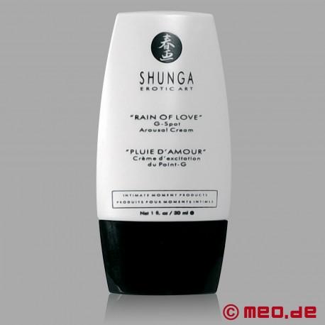 G-Punkt Creme: Rain of Love Arousal Cream von Shunga