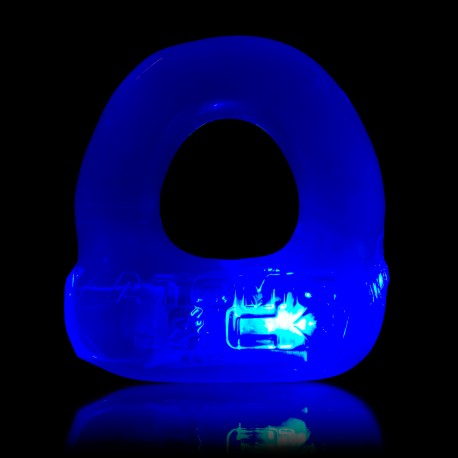 Lumo LED Stretch Cockring - eisblau