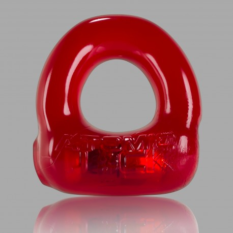 Lumo LED Stretch Cockring - Ruby