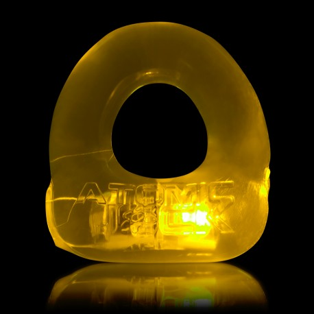 Lumo LED Stretch Cockring - Jaune