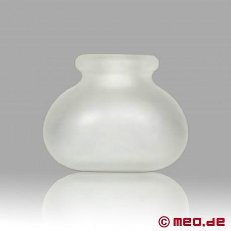 Étireur de couilles Bull Bag de CAZZOMEO –transparent