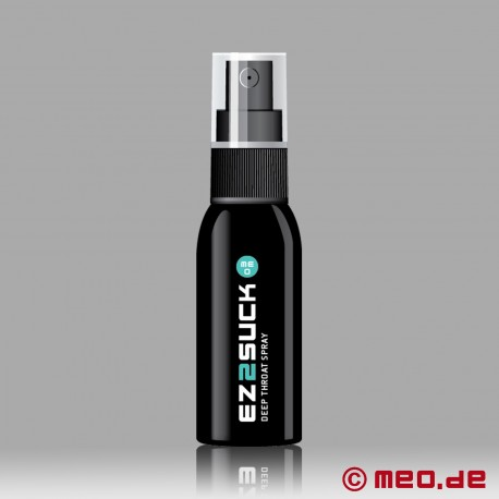 EZ2SUCK Deep Throat Spray pour faire une super bonne pipe
